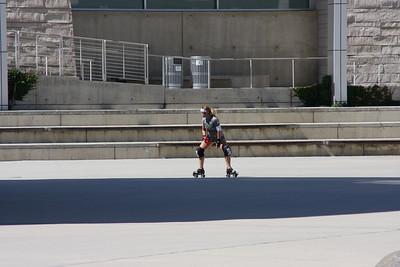 Skater, San Jose City Hall (unedited)