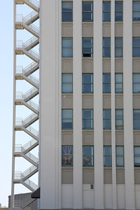 Building and fire escape, San Jose (unedited)