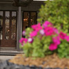 We were learning depth of field.  THis one we wereto focus on the building not the flowers