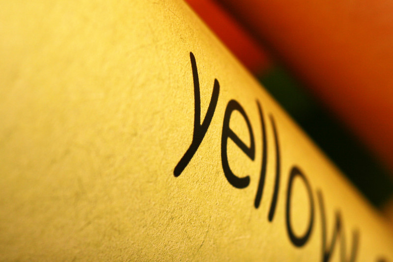 April 16, 2010: Today's Photo du Jour is brought to you by the letter Y! Here is a shot of a crayon.