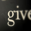 """March 23, 2010: Today's Photo du Jour is brought to you by the letter G! This is a photo of a quote magnet that I have on my fridge – """"Never, Never, Never Give Up"""" (Winston Churchill)."""