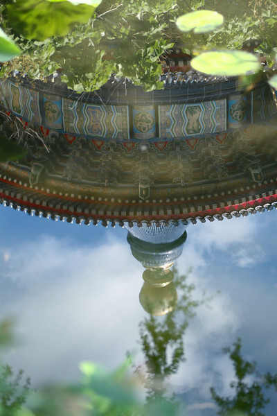 "June 15, 2010: Today's photo is titled ""Reflections of China."" Ha. =)"