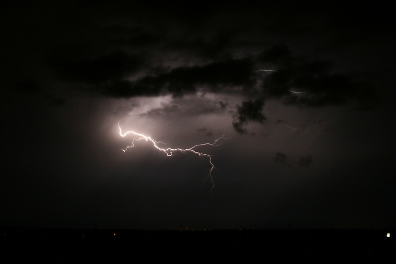August 27, 2010: Here's another photo from my lightning shoot last Friday.