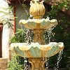 August 5, 2009:  Here's a photo of a water fountain from the Jacksonville Zoo.  This was in the Range of the Jaguar exhibit when I visited a few months back.  It was a very pretty area of the zoo.