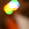 November 8, 2010: Here's a photo of some lighting that I took out of focus.