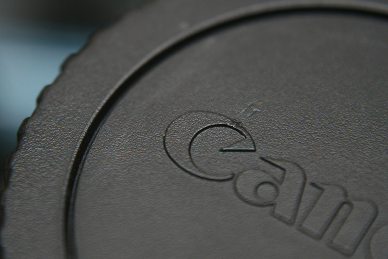 March 17, 2010: Today's Photo du Jour is brought to you by the letter C! Here's a lens cover of my favorite brand!