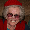 December 30, 2009: I'm sharing a little more Christmas cheer today.  Today's photo is of my great-grandmother who had a BLAST with her 95th Christmas!  In just a few more days she will be turning 96 years young!  She enjoyed her hat and scarf that she got (pictured), as well as the Snuggie (yes she got a Snuggie) she got.