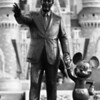 May 7, 2010: Today's photo is of the two that made it all possible. This is the Partners statue of Walt Disney and Mickey Mouse. I've been wanting to get a good photo of this statue for a while, but there were always so many people around. I'm quite happy with this one.
