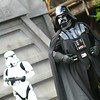 May 24, 2010: This past Friday started Star Wars™ Weekends at Disney's Hollywood Studios™. This is a photo of Darth Vader and a Stormtrooper from the Jedi Training Academy.