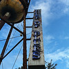 August 18, 2010: Here's another photo that I took with my phone the other day. This is the House of Blues Orlando water tower before heading into the Something Corporate concert on Monday night.
