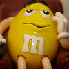 March 31, 2010: Today's Photo du Jour is brought to you by the letter M! This is an M&M dispenser that I have had for a few years.