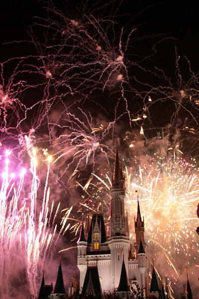 """October 1, 2009:  Today's photo comes compliments of """"Wishes!"""" at Magic Kingdom from a few months ago when I went with my Aunt and cousin – that was a VERY long day, but fun!"""