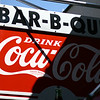 March 12, 2010: Here's a sign for a restaurant in Winter Garden advertising bar-b-que.