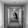 October 28, 2010: This photo was taken at the end of the day back at the hotel. As we were walking back to the room so I could pick up my things, I thought it would be fun to do a hallway shot.