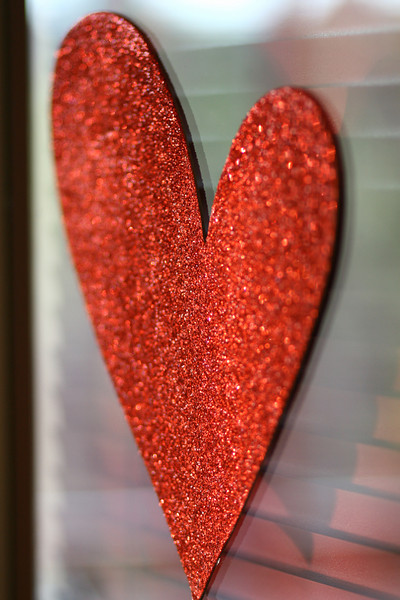 February 15, 2010: Yesterday we threw a party for our Cast Members who worked for Valentine's Day/Singles Awareness Day. This was one of the hearts used for decoration.