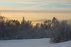 January 4, 2012.  Winter's pastels