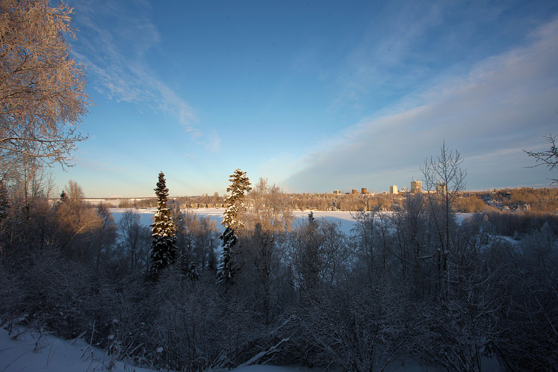 January 1, 2012.  A beautiful but very cold first day of 2012