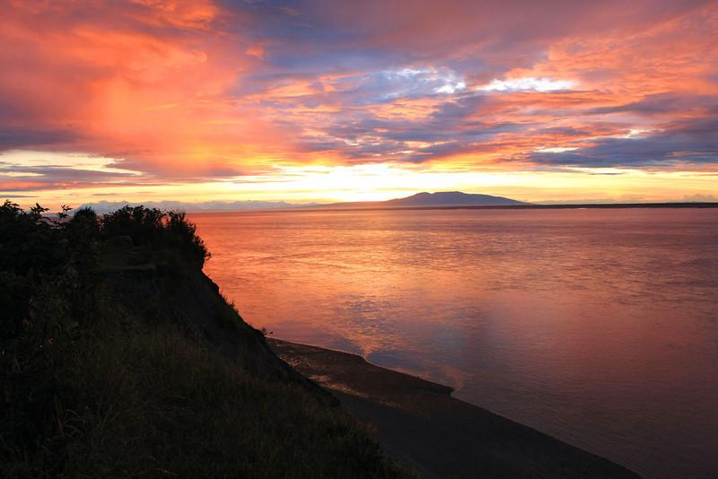 August 17, 2013.  Season of sunsets