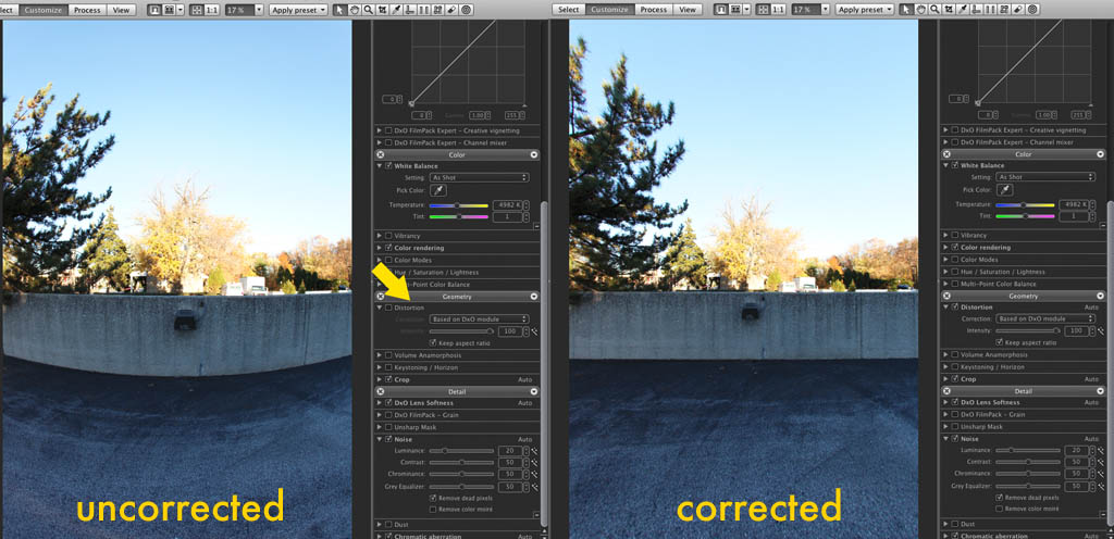 How to correct Fisheye?? -- RAW, Post Processing & Printing