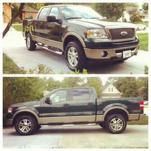 10-04-12.  New (to me) Truck.  2006 F150 Supercrew Lariat 4x4.