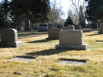 View of Prindle graves looking ENE