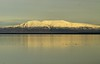March 30, 2015.  Sunlit Mt. Susitna
