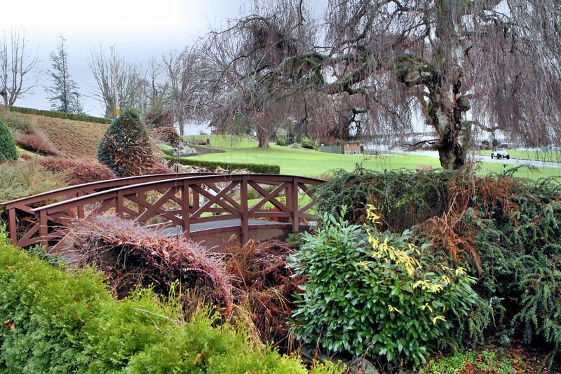 December 6, 2015.  Peace Arch Park