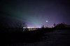 November 4, 2015.  Aurora over Anchorage