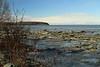 April 7, 2015.  Frozen mudflats