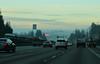 December 1, 2015.  Fog on the I-5