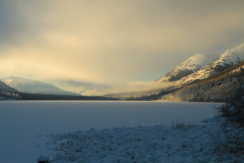February 5, 2015.  Summit Lake