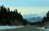 February 7, 2015.  Turnagain Pass, heading home