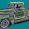 Photo-Art Chevy Pick-up Truck