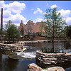 The Pearl Brewery at the Northern end of the new Riverwalk section.<br /> Nikon FE - 28/3.5<br /> Fuji Velvia 50