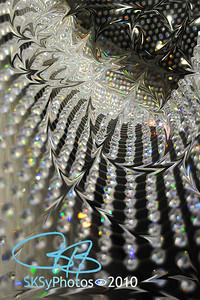 Swarowski crystal warp.