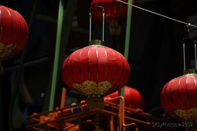Lanterns, Chinatown, San Francisco.  June 2009