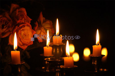 Roses & Candles