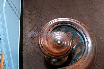 Bannister detail, Independence Hall, Philadelphia.