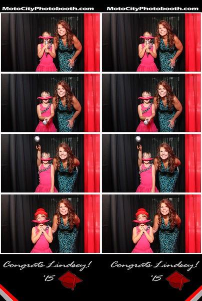 Lindsey's graduation party
