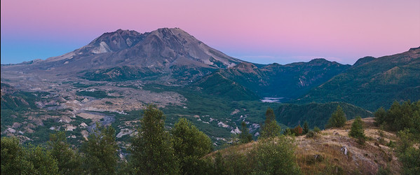 Mt St Helens - The Belt of Venus