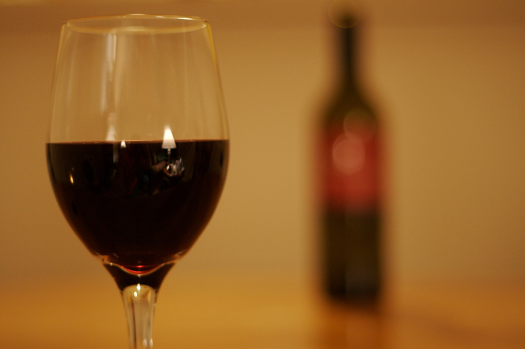 Wine Glass In Focus II