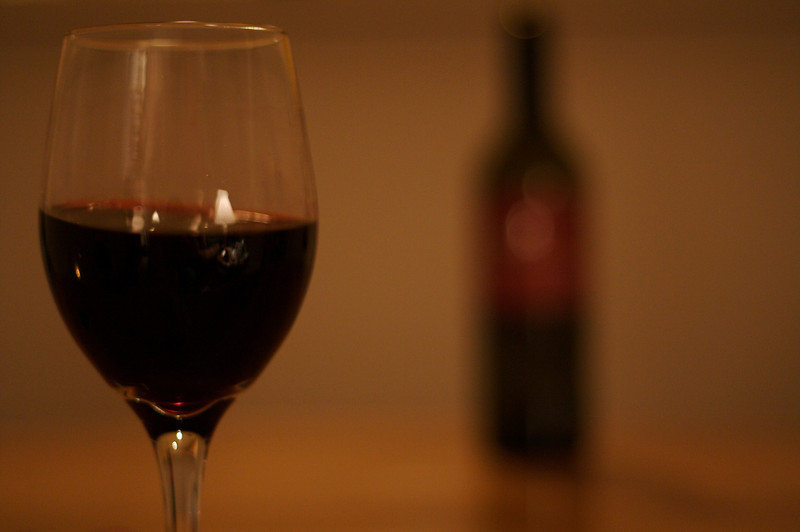 Wine Glass In Focus I