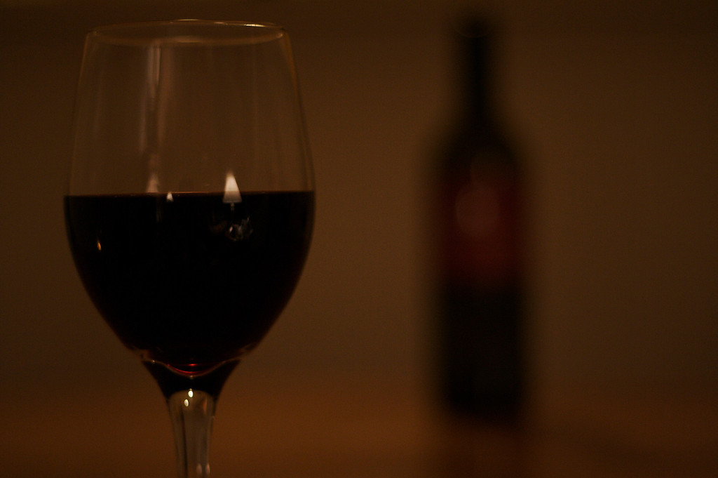 Wine Glass In Focus III