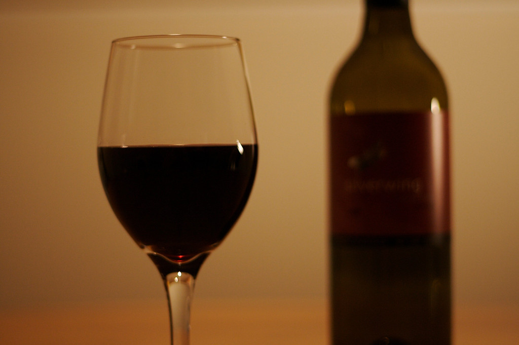 Wine Glass In Focus IV