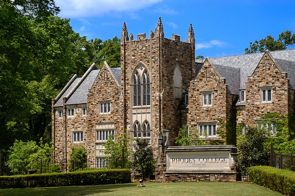 Buckman Hall on the Rhodes College campus in Memphis, TN.