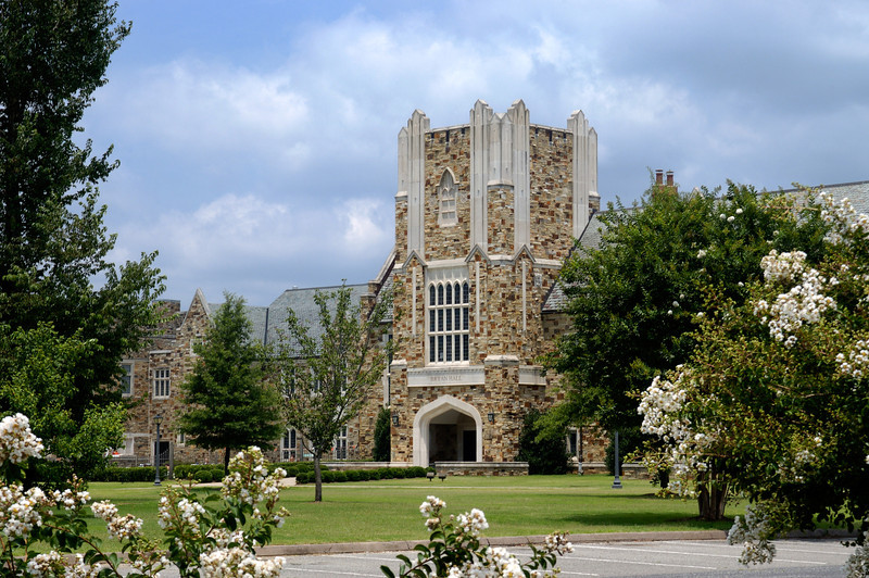 Bryan Hall on the campus of Rhodes College in Memphis, TN.
