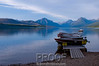 """Evening at the Lake""<br /> <br /> This photograph was taken as the sun set over Lake McDonald in Glacier National Park."