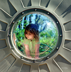 Child Explores Her World