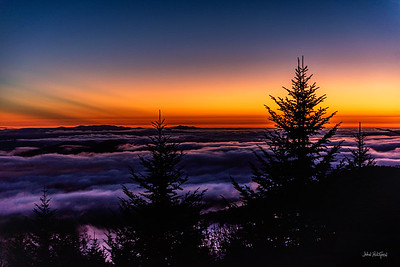 Sunset From Clingman's Dome 2019