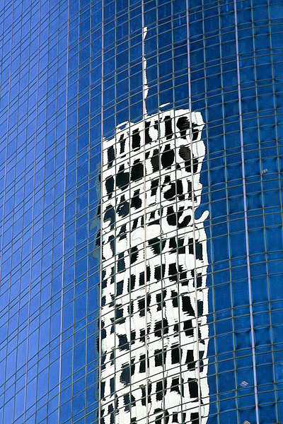 Sky Scraper Reflection